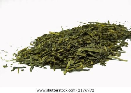 Some Green Tea - stock photo