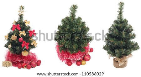 some objects for christmas - stock photo