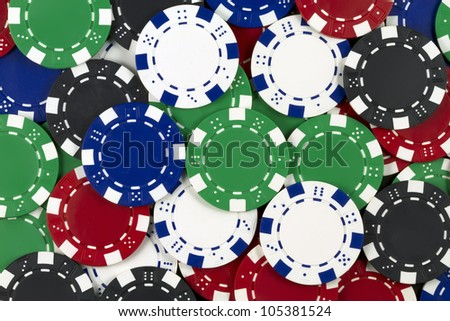 some poker tokens