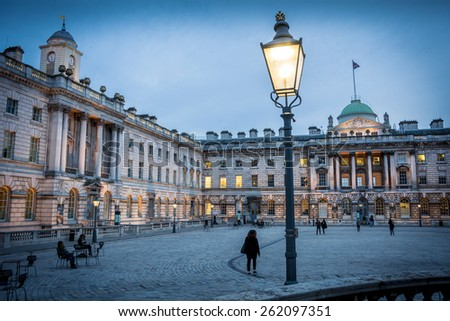 Somerset House - stock photo