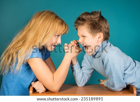 Kids fighting stock photos images amp pictures shutterstock