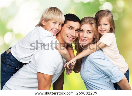 Son, isolated, handsome. - stock photo