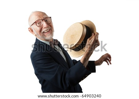 Song and Dance Man in Vaudeville Style - stock photo