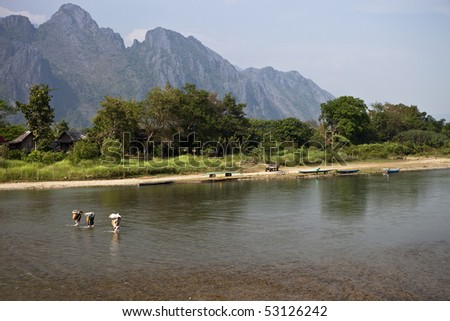 Song River, Laos