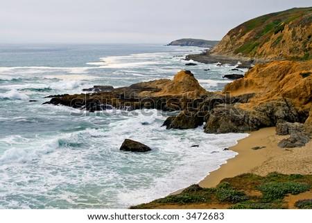 Sonoma Coast, Bodega Bay California - stock photo