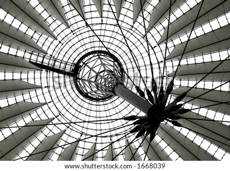 Sony Center Berlin - stock photo