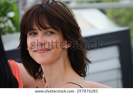 Sophie Marceau attends the Jury photocall during the 68th annual Cannes Film Festival on May 13, 2015 in Cannes, France. - stock photo