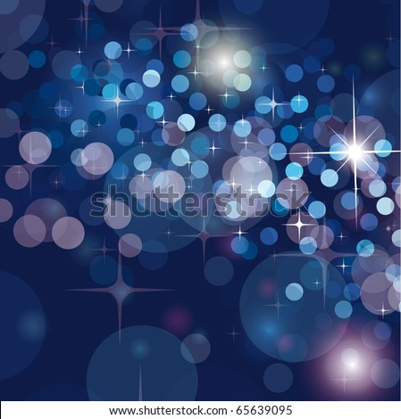 Sophisticated Glitter Christmas Background for Invitation Flyers - stock photo