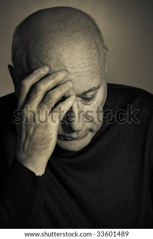Sorrow - stock photo