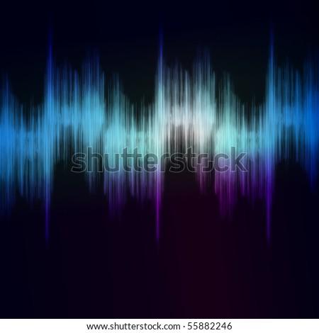 Sound Equalizer Rhythm Music Beats - stock photo
