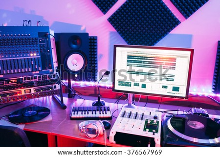 Incredible Sound Recording Equipment Stock Images Royalty Free Images Largest Home Design Picture Inspirations Pitcheantrous