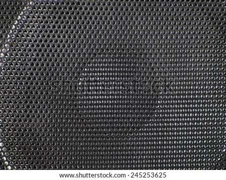 Sound space - stock photo