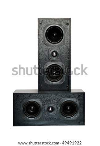 Sound Speaker on white background