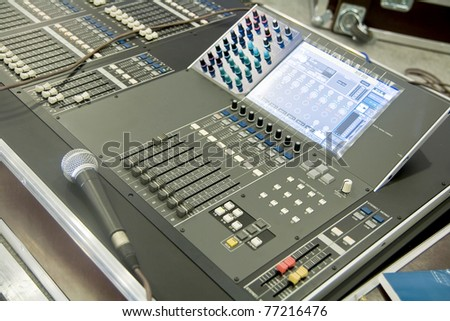 sound systems - stock photo