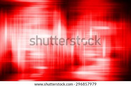 Sound waves oscillating magic glow red light, modern Abstract pattern technology background. motion move blur. ray. beam. aura. dark - stock photo
