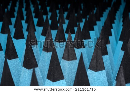 soundproofing material - stock photo