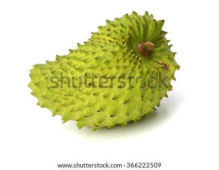 sour sop fruit - stock photo