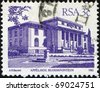 SOUTH AFRICA - CIRCA 1982: A stamp printed in South Africa shows Appelhof, Bloemfontein, series, circa 1982 - stock photo