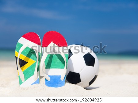 South Africa soccer world cup. - stock photo