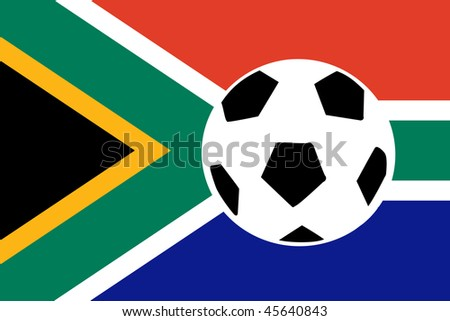 South Africa World Cup 2010 - stock photo