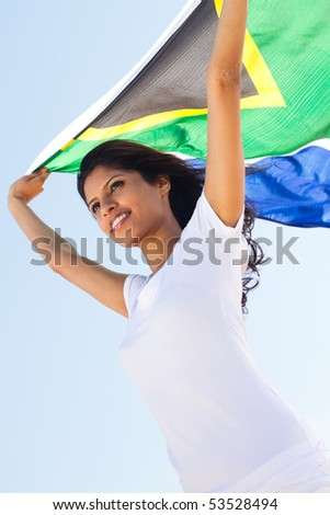 south african - stock photo