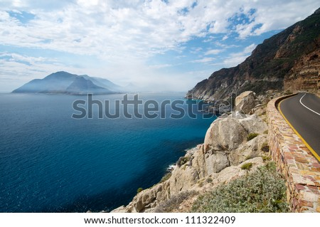 South African Coastline - stock photo