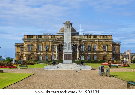 South Ayrshire County Building - stock photo