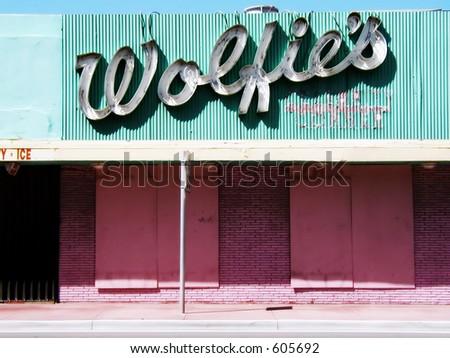 South Beach Landmark - stock photo
