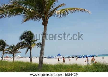 South Beach Miami - stock photo