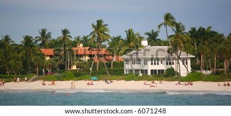 South Beach - Miami Florida - stock photo