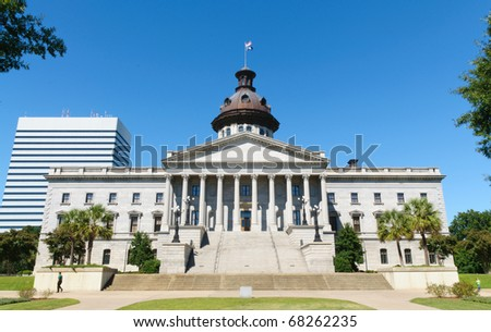 South Carolina state capitol building