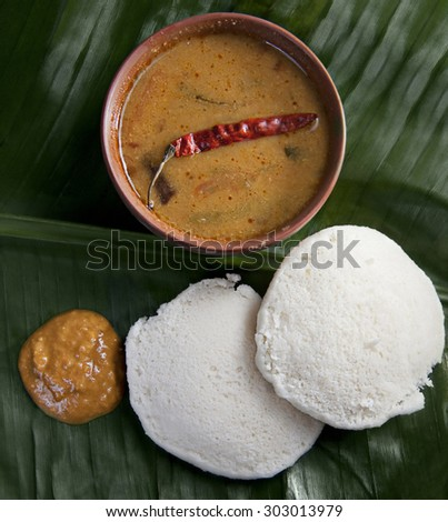 South Indian food - stock photo