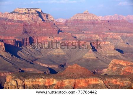 South Rim Grand Canyon, Arizona, USA - stock photo