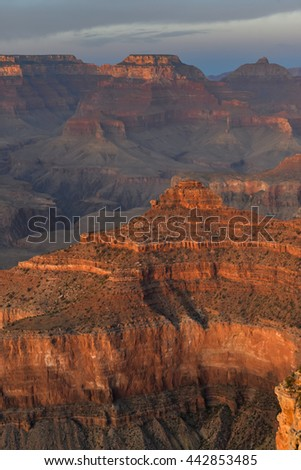 South Rim Grand Canyon National Park during sunset, World Class Landmark in the World