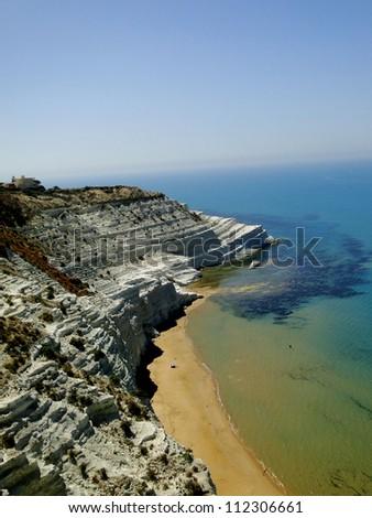 South Western Sicilian Coast - stock photo