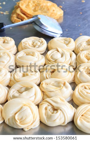 Southern flat bread, food asia - stock photo