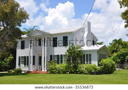 Southern Plantation Style Mansion