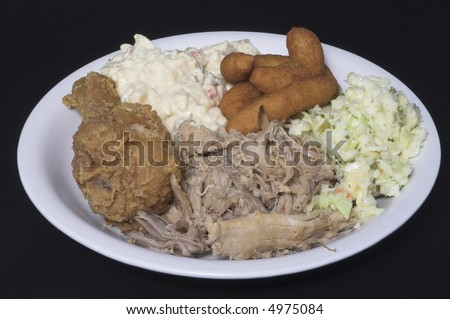 Southern Style Dinner - stock photo