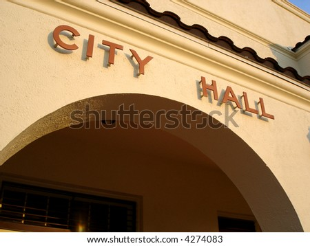 Southwestern City Hall - stock photo