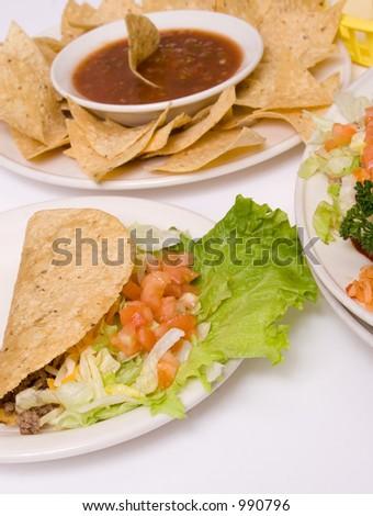 southwestern traditional food - stock photo