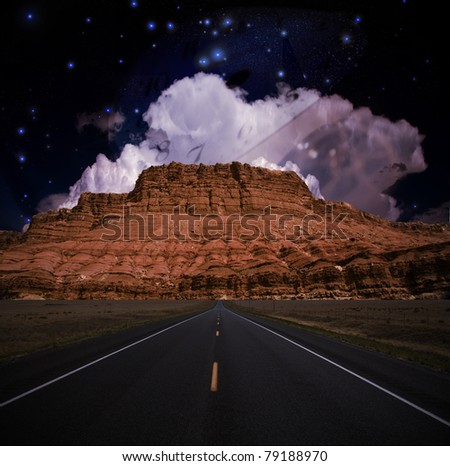 Southwestern USA Composition - stock photo