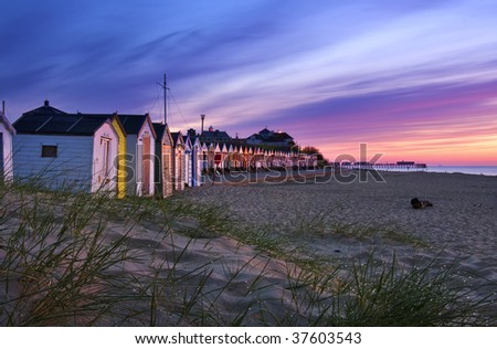 Southwold Beach at Sunrise