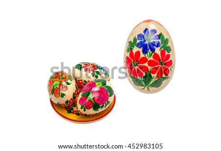Souvenir Easter eggs