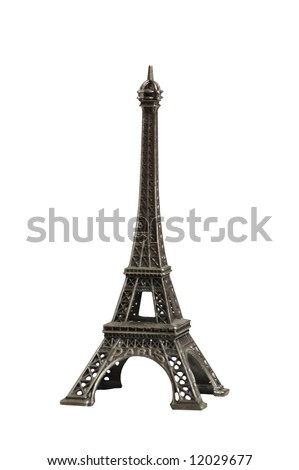 souvenir Eiffel tower - stock photo