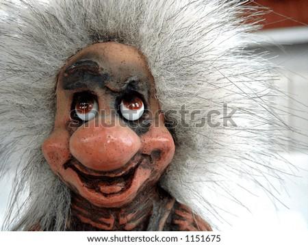 Souvenir troll - stock photo