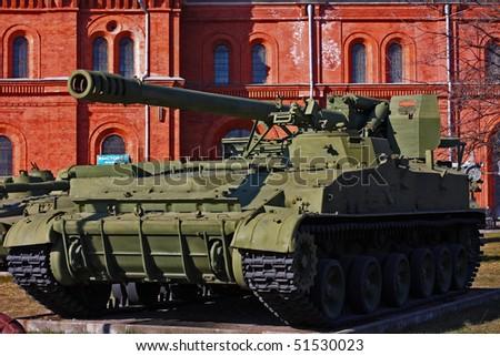 soviet union tank - stock photo