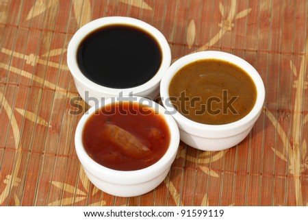 Soy, Chili, Curry Sauce
