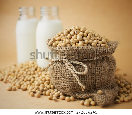 Soybeans - stock photo
