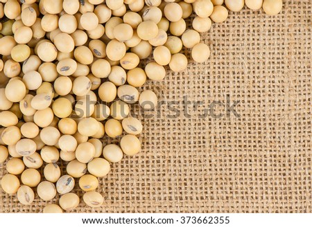 Soybeans, Healthy Food. - stock photo