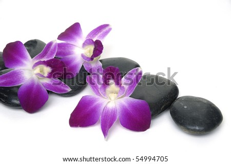 Spa and aromatherapy concept shot - stock photo